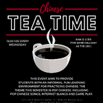 CANCELLED - Chinese Tea Time on April 8, 2020